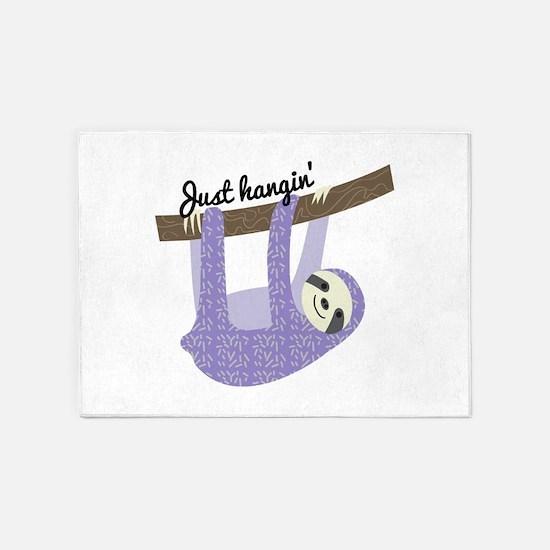 Just Hangin 5'x7'Area Rug