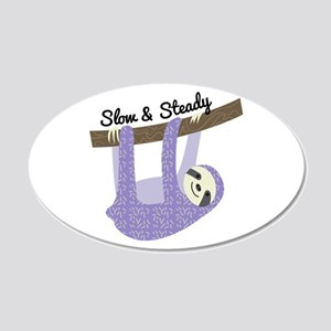 Slow & Steady Wall Decal