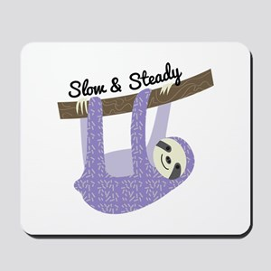 Slow & Steady Mousepad