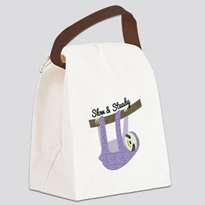 Slow & Steady Canvas Lunch Bag