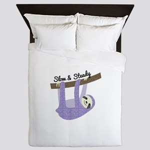 Slow & Steady Queen Duvet