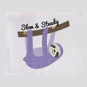 Slow & Steady Throw Blanket