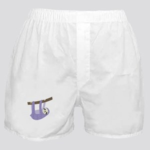 Tree Sloth Boxer Shorts