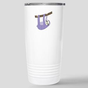 Tree Sloth Travel Mug