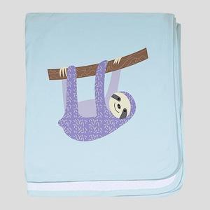 Tree Sloth baby blanket
