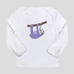 Tree Sloth Long Sleeve T-Shirt