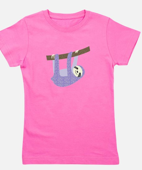 Tree Sloth Girl's Tee