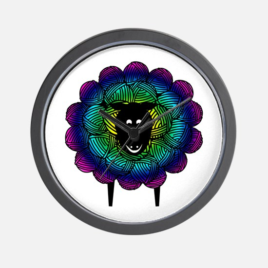 Unique Sheep Wall Clock