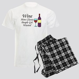 Wine Classy People Wasted Pajamas