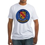 USS MOUNT VERNON Fitted T-Shirt