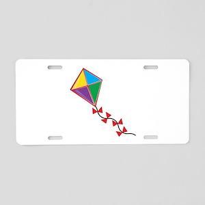 Colorful Kite Aluminum License Plate