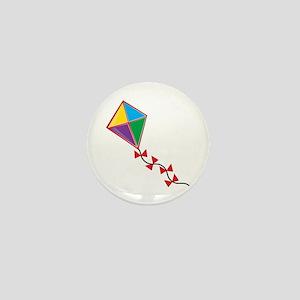Colorful Kite Mini Button