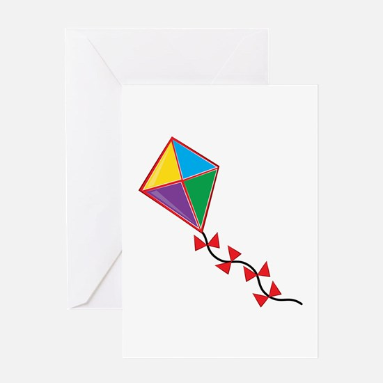 Colorful Kite Greeting Cards