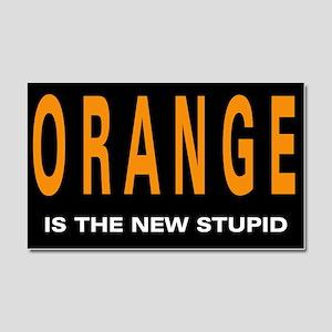 Orange Trump! Car Magnet 20 x 12