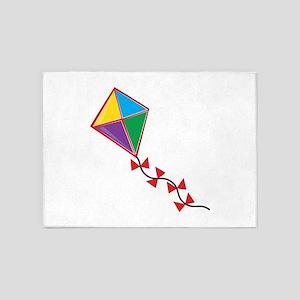 Colorful Kite 5'x7'Area Rug