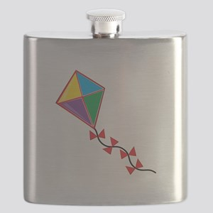 Colorful Kite Flask