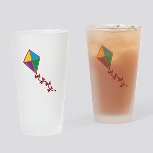 Colorful Kite Drinking Glass