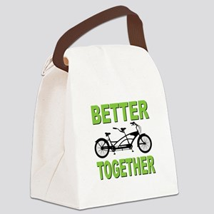 Better Together Canvas Lunch Bag