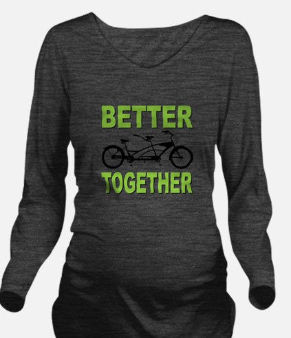 Better Together Long Sleeve Maternity T-Shirt