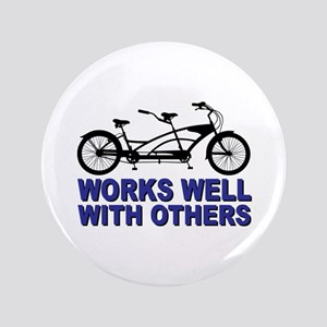 """Works Wel with others 3.5"""" Button"""