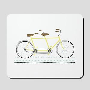 Tandem Bicycle Mousepad
