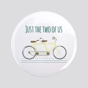 """Just the two of us 3.5"""" Button"""