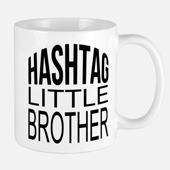 Hashtag Little Brother Mug