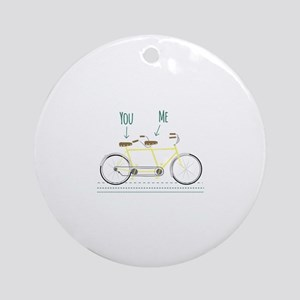 You Me Ornament (Round)