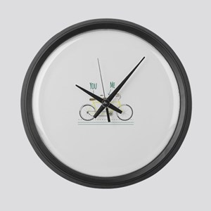You Me Large Wall Clock