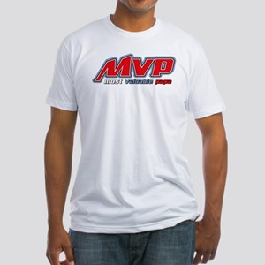Most Valuable Papa Fitted T-Shirt