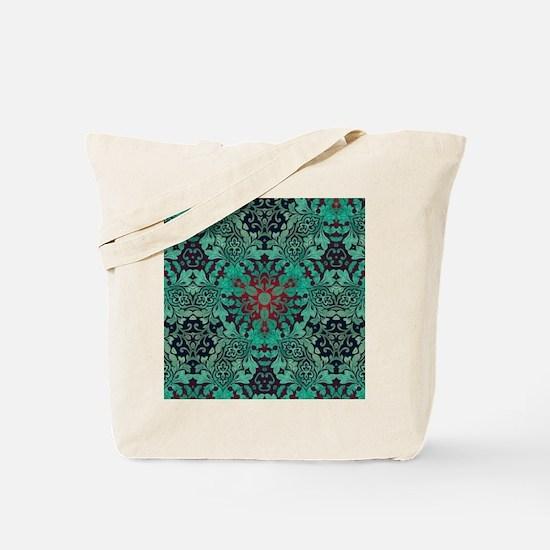 rustic bohemian damask pattern  Tote Bag