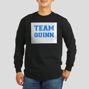 TEAM QUINN Long Sleeve Dark T-Shirt