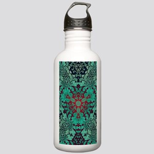 rustic bohemian damask Stainless Water Bottle 1.0L