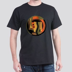 Vintage Art Deco Dark T-Shirt