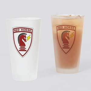 red_horse Drinking Glass