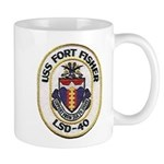 USS FORT FISHER 11 oz Ceramic Mug