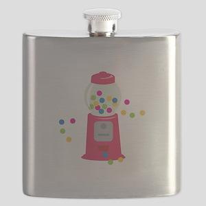 Bubble Gum Machine Flask