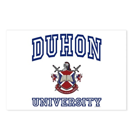 DUHON University Postcards (Package of 8)