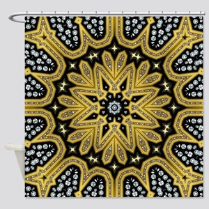 Arabesque Sun Shower Curtain