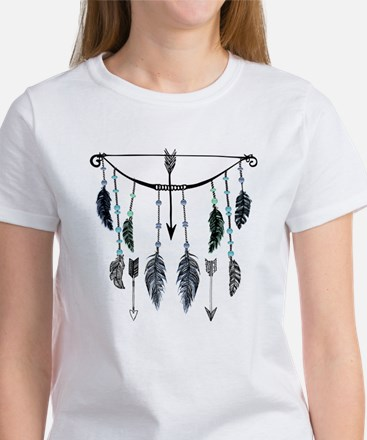 Bow, Arrows, and Feathers T-Shirt
