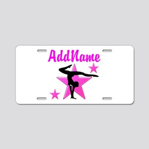 SUPREME GYMNAST Aluminum License Plate