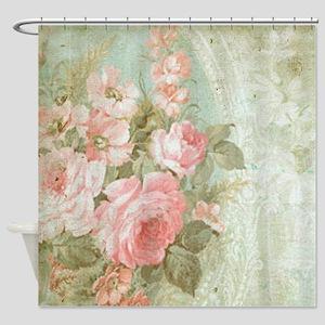Floral shower curtains cafepress shower curtain mightylinksfo
