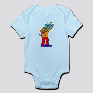 funny clown Body Suit