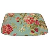 Floral Memory Foam Bathmats