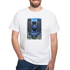 Tarot High Priestess White T-Shirt