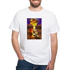 Tarot the Lovers White T-Shirt