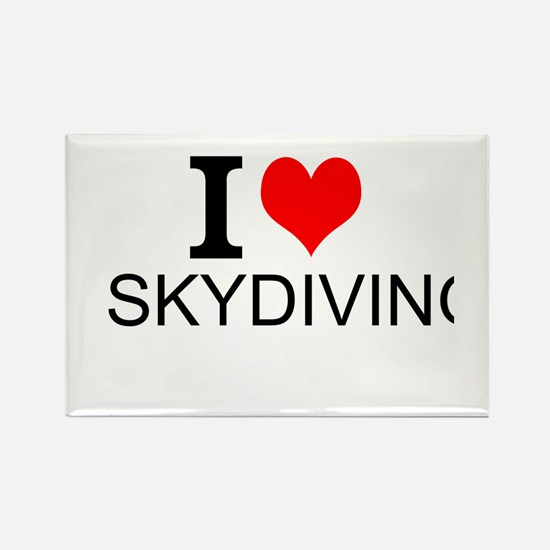 I Love Skydiving Magnets