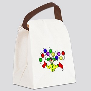 funny clown Canvas Lunch Bag