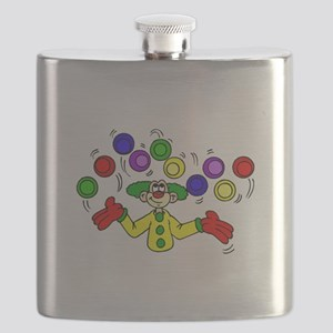 funny clown Flask