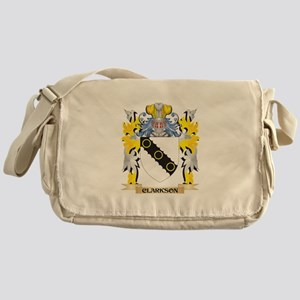 Clarkson- Coat of Arms - Family Cres Messenger Bag